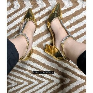 Asos Embellished Pointed Heels